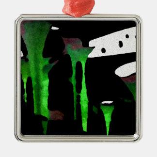 Green Sensation. Metal Ornament