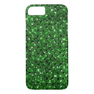 Green Sequin Effect Phone Cases
