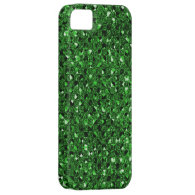 Green Sequin Effect Phone Cases iPhone 5 Cover