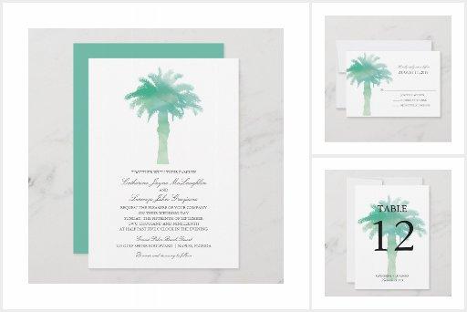 Green Serene Palm