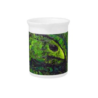 Green Serpent ( dark animal symbolism) Pitchers