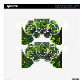 Green Serpent ( dark animal symbolism) PS3 Controller Skin