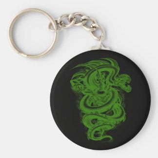 Green Serpent Key Chain