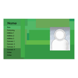 Green Shades - Business Business Cards