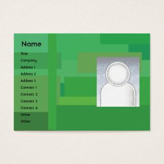 Green Shades - Chubby Business Card