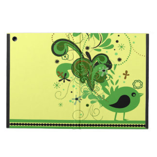 Green Shake Your Tail Feathers Bird iPad Air Cover