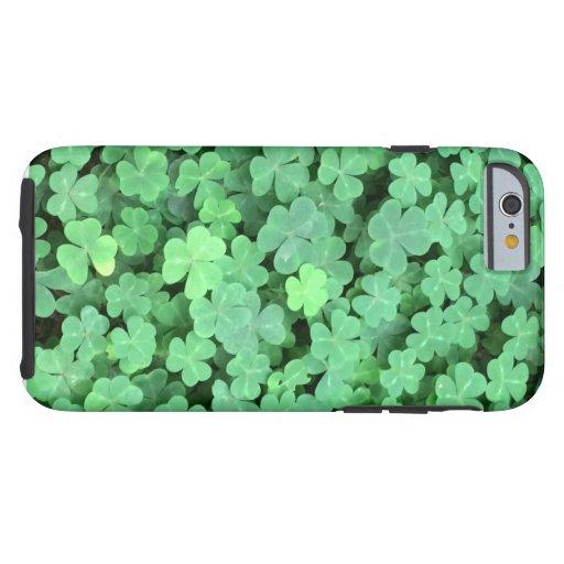 Green Shamrock Tough iPhone 6 Case