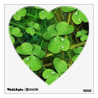 Green Shamrock Clover St Patrick's Day Wall Decal