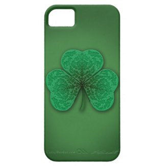Green Shamrock iPhone5 Universal Case iPhone 5 Cover