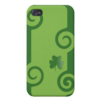 Green Shamrock iPhone 4 Case