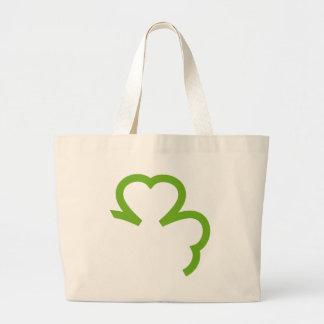 green shamrock ireland bags