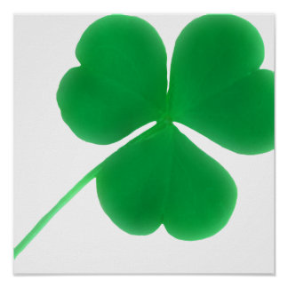 Green Shamrock Ireland Symbol Framed Print