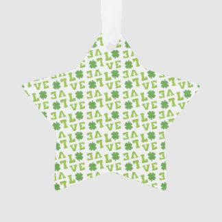 Green Shamrock Love