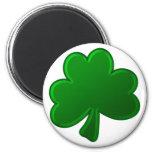 Green Shamrock Magnets