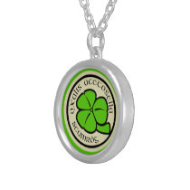 Green Shamrock Saint Patrick's Day Floral Graphic