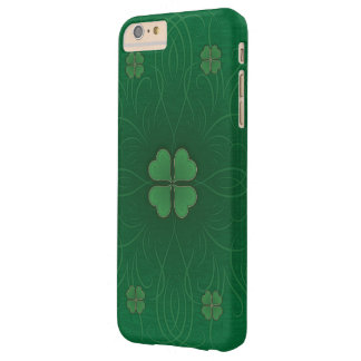 Green Shamrock St.Patrick's Day Style Barely There iPhone 6 Plus Case