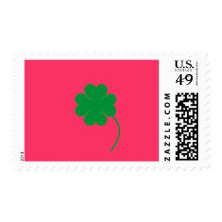 Green shamrock stamps