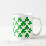 Green shamrocks - Mug