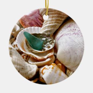 Green Shard Ornament