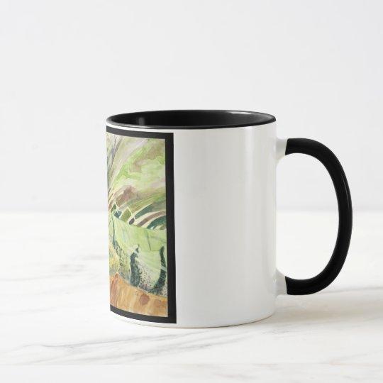 Green Sheguana Iguana Mug
