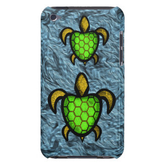 Green Shell Turtle iPod Touch Case