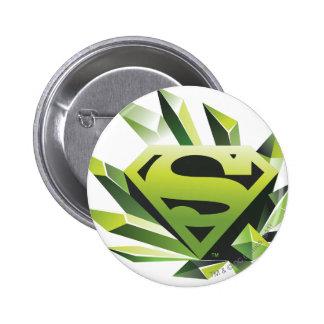 Green Shield 2 Inch Round Button