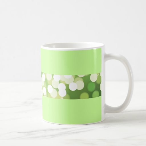 Green Shimmer Mug