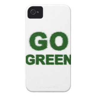 Green Shop Galore, Go Green! iPhone 4 Case-Mate Cases