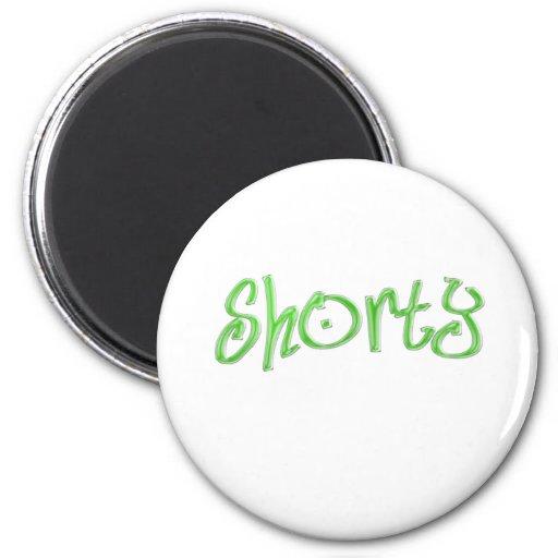 green shorty fridge magnet