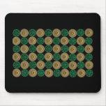 green shotgun shells mouse pad