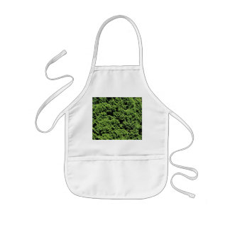 Green Shrubbery Kids' Apron