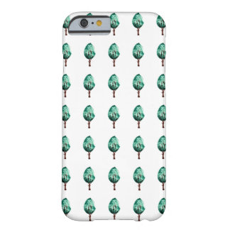 Green Shrubs Barely There iPhone 6 Case