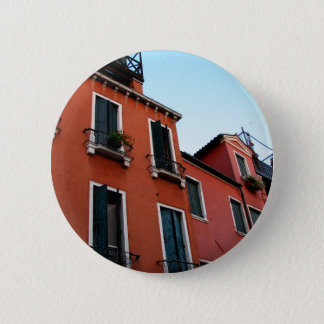 Green Shutters Pinback Button
