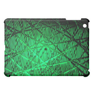 Green Silent Abstract Case For The iPad Mini