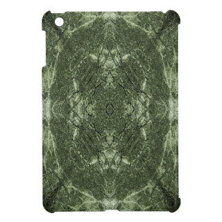 Green silhouetted tree pattern case for the iPad mini