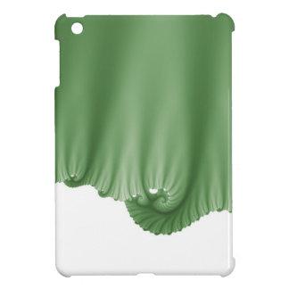 Green Silk Drapes iPad Mini Case