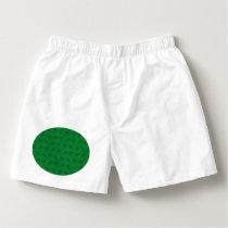 Green ski pattern boxers