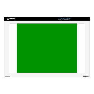"Green Skin For 17"" Laptop"