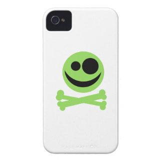 Green Skull and Crossbones. Blackberry Bold Covers