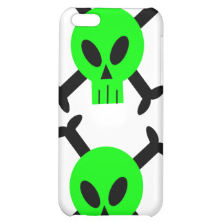 Green Skull And Crossbones iPhone 4 Speck Case iPhone 5C Covers