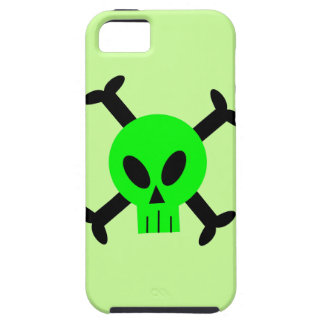 Green Skull And Crossbones iPhone 5 Caseable Case iPhone 5 Covers