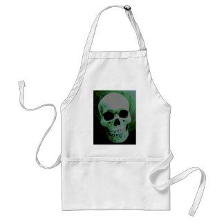 Green Skull Aprons