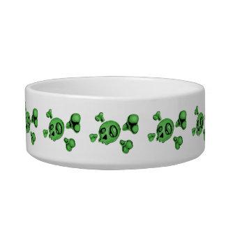 Green Skull Bowl