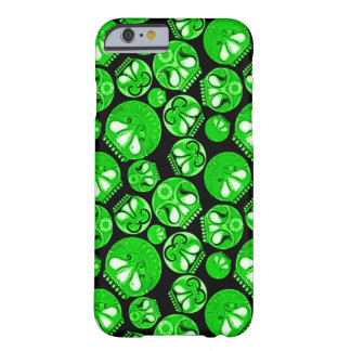 Green Skull Diary Barely There iPhone 6 Case