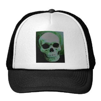 Green Skull Trucker Hats