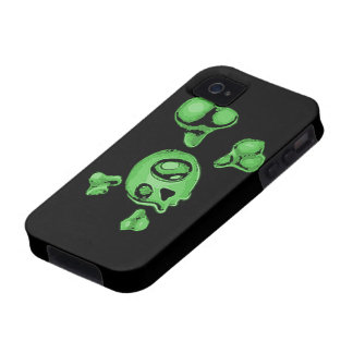 Green Skull iPhone 4/4S Cover