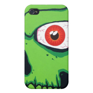 Green Skull iPhone 4/4s Speck Case iPhone 4 Covers