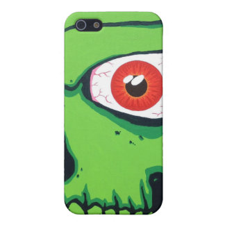 Green Skull iPhone 4/4s Speck Case Cover For iPhone 5