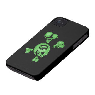 Green Skull iPhone 4 Cover