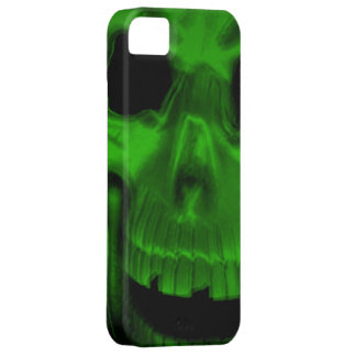 Green Skull IPhone 5 Case